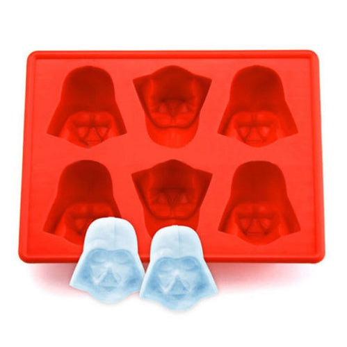 1pcs Fun Star Wars Darth Vader Cocktails Silicone Ice Cube Tray