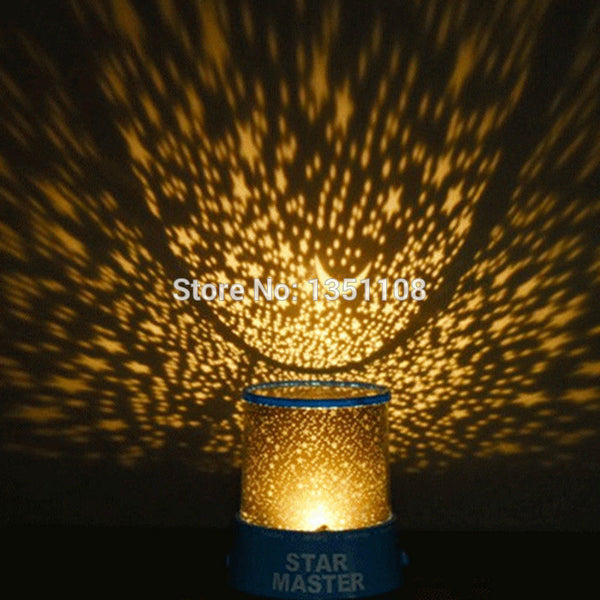 Romantic LED Starry Night Sky Projector Lamp