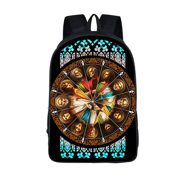 12 Jesus Disciples Backpack