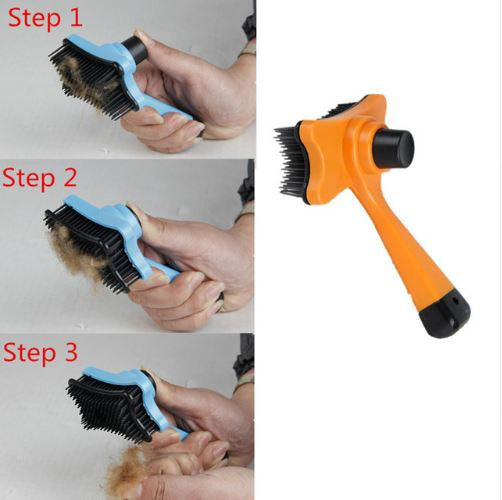 Hair Fur Shedding Trimmer Comb Brush Tool For Pets