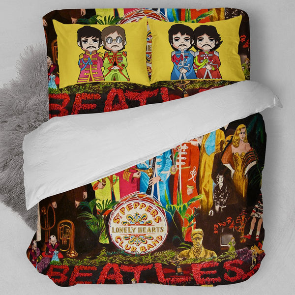 Sgt. Pepper's Lonely Hearts Club Band Bedding Set