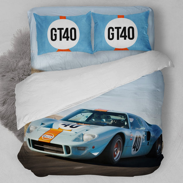 1968 Ford Mustang GT40 Bedding Set