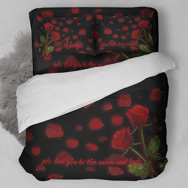 Always Love You Bedding Set