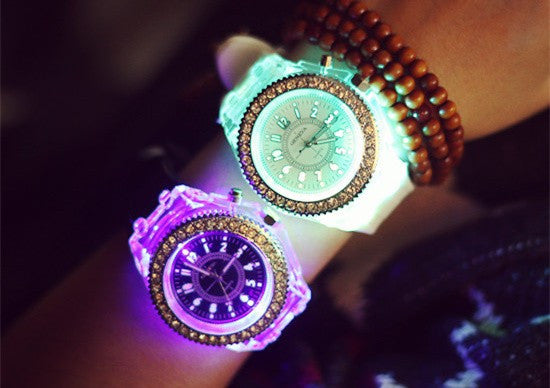 Luminous LED Sport Watches For Women