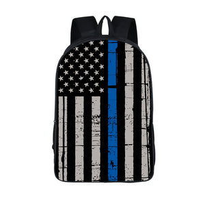 Thin Blue Flag Backpack