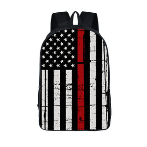 Thin Red Flag Backpack
