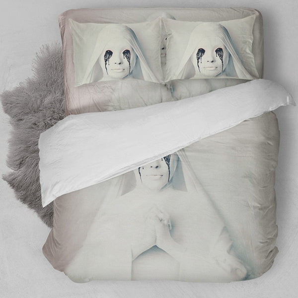 American Horror Story -  White Nun Bedding Set