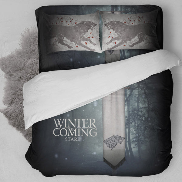Game of Thrones - House Stark Bedding Set