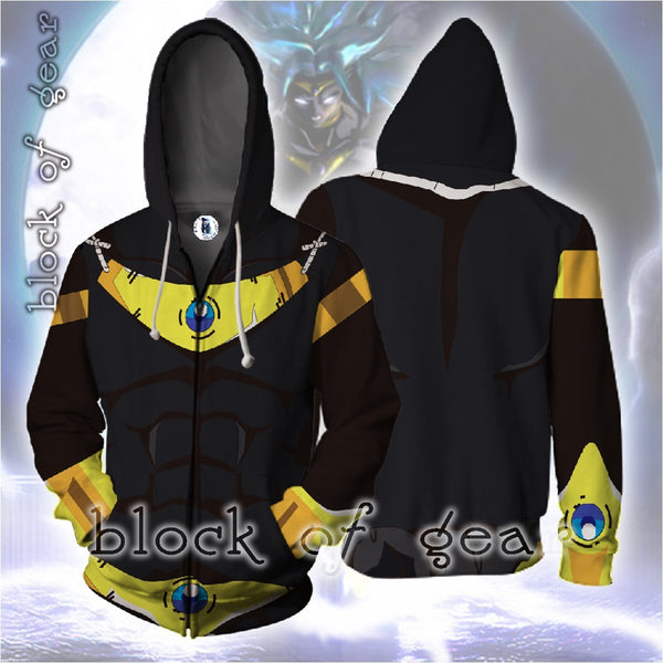 Dragon Ball Z Costume Zip Hoodie