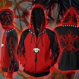 Portgas D. Ace One Piece Zip Hoodie