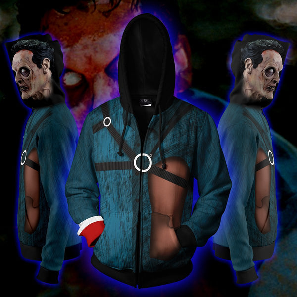 Ash Williams Evil Dead Zip Hoodie