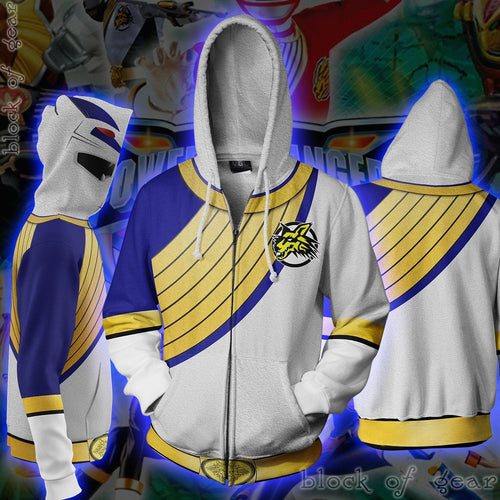 Power Rangers Wild Force Zip Hoodie