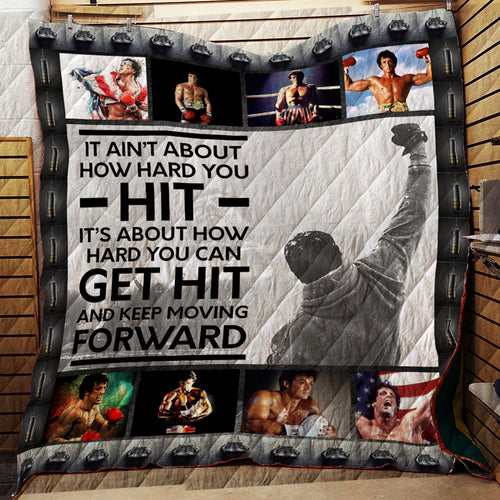Rocky Balboa -style B-  Quilt
