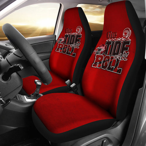THE TIDE WILL ROLL CAR SEAT COVERS