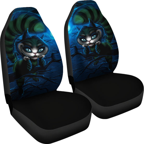 9r2653 Cat Seat : The cheshire cat car seat covers block of gear