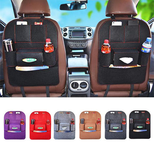 Back Car Seat Cover Organizer