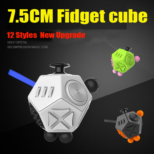 12 Style Magic Cubes Fidget Stress Relief
