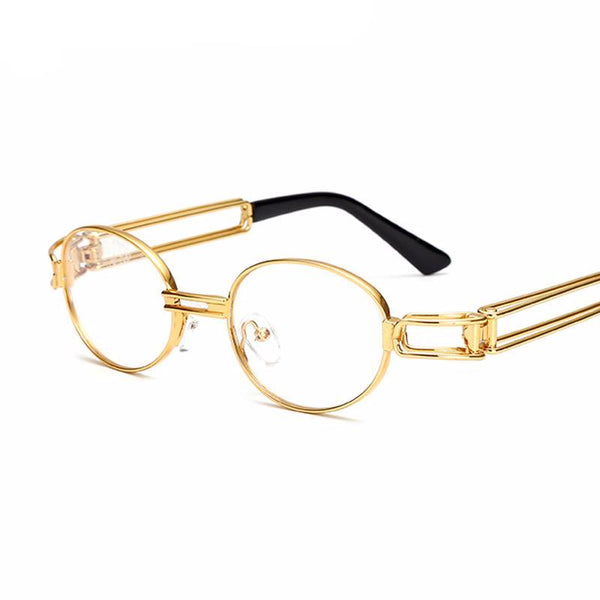 Retro clear lens nerd glasses frames