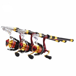 Sea Knight Carbon Fishing Rods [1.8m to 3.6m] and 11BB Fenice Spinning Reels COMBO