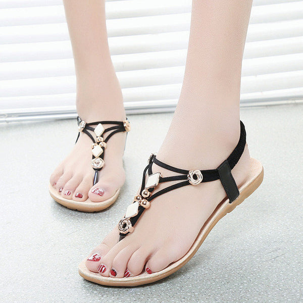 Beading Bohemian Style Sandals