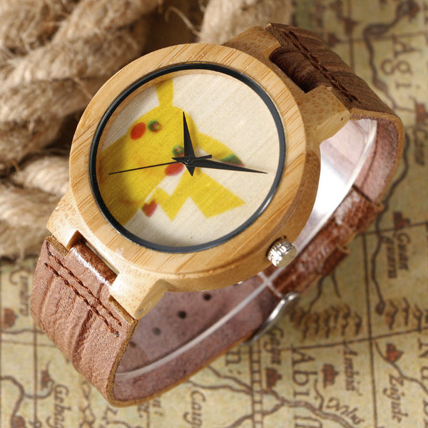 Pokemon Go Wooden Watches