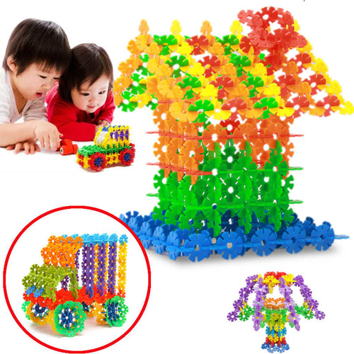 150pcs Snowflake Small Particles Building Blocks