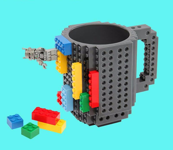10 Colors Building Blocks Mugs