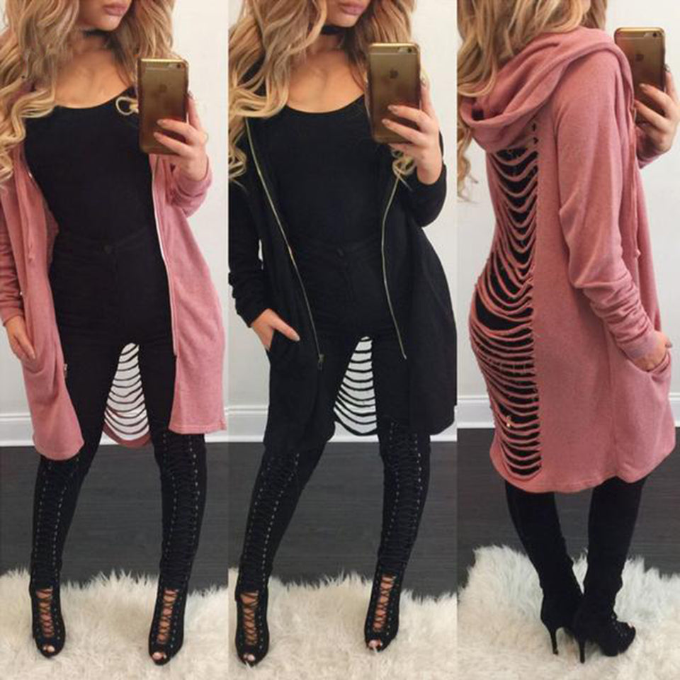 Autumn CutOut Cardigan