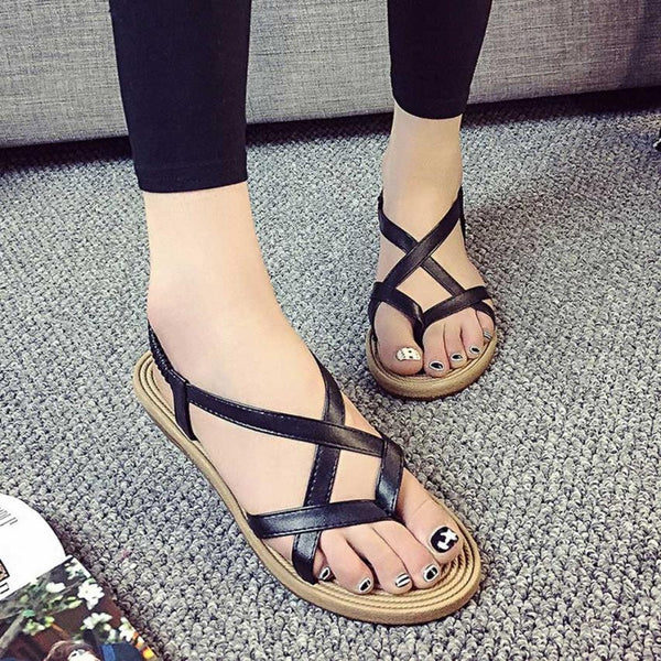 Bandage Bohemia Leisure Peep-Toe Lady Sandals