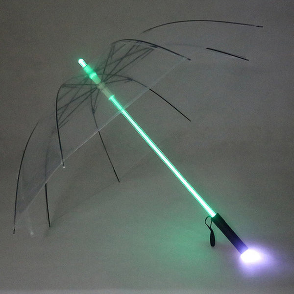 7 Colors Lightsaber Laser Umbrella