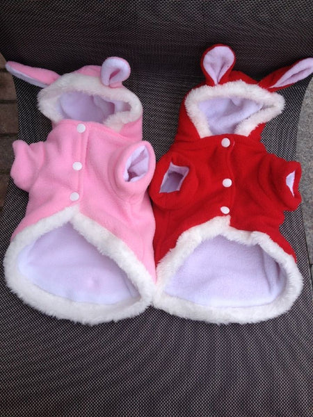 Easter Bunny Costume Hooded Coat For Cats and Dogs