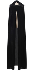 Adult Witch Long Halloween Cloaks Hood and Capes