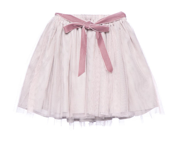 Tulle Skirt in Sparkle Gold (2-8Y)
