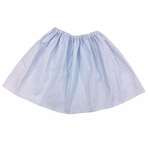 blue check skirt - 5 going on 10