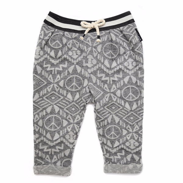 boys african print sweatpants - 5 going on 10