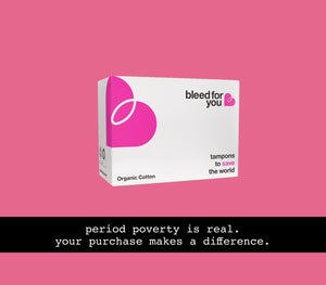organic tampons that donate profits makes a difference