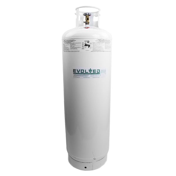 100# Refrigerant Recovery Tank (Empty) - extraction equipment canada, extraction equipment - Evolved Extraction Solutions