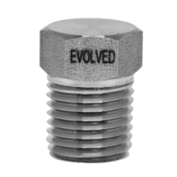 "1/4"" MNPT Hex Plug - extraction equipment canada, extraction equipment - Evolved Extraction Solutions"