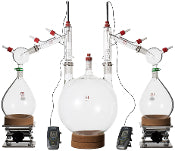 Ai 10 Litre Short Path Distillation Kit - extraction equipment canada, extraction equipment - Evolved Extraction Solutions