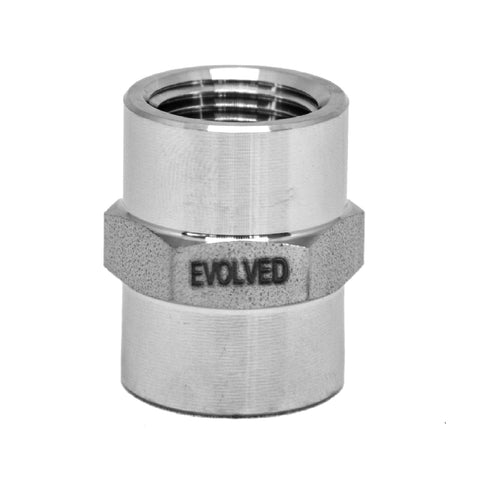 "Coupler - 3/8"" FNPT Hex Coupler - extraction equipment canada, extraction equipment - Evolved Extraction Solutions"