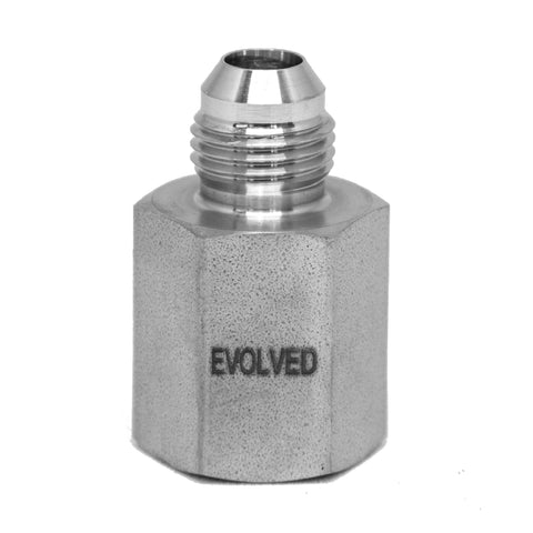 "JIC - 3/8"" FNPT * 3/8"" JIC Male - extraction equipment canada, extraction equipment - Evolved Extraction Solutions"
