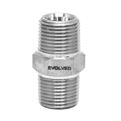 "1/4"" MNPT Hex Nipple - extraction equipment canada, extraction equipment - Evolved Extraction Solutions"