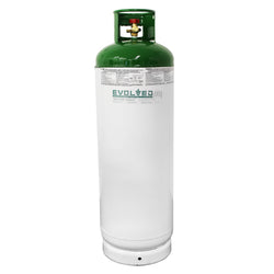 Dual-Port Recovery Cylinder (120 lb butane capacity) - extraction equipment canada, extraction equipment - Evolved Extraction Solutions