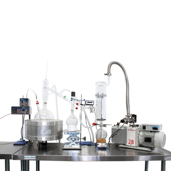 Distillation Kit - EVOLVED 5L Short Path Distillation Kit - extraction equipment canada, extraction equipment - Evolved Extraction Solutions