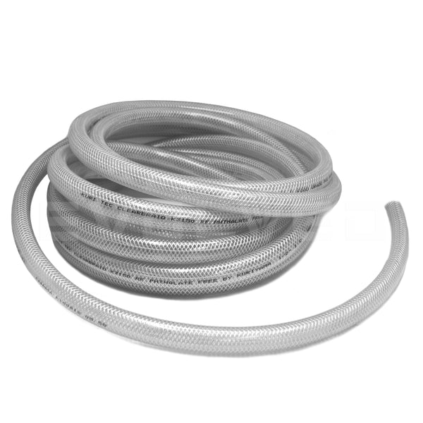"1/2"" Premium Braided PVC Hose - extraction equipment canada, extraction equipment - Evolved Extraction Solutions"