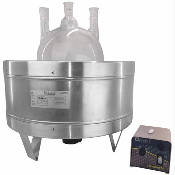 12L Glas-Col Heated Stirring Mantle - extraction equipment canada, extraction equipment - Evolved Extraction Solutions