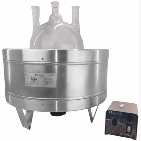 2L Glas-Col Heated Stirring Mantle - extraction equipment canada, extraction equipment - Evolved Extraction Solutions