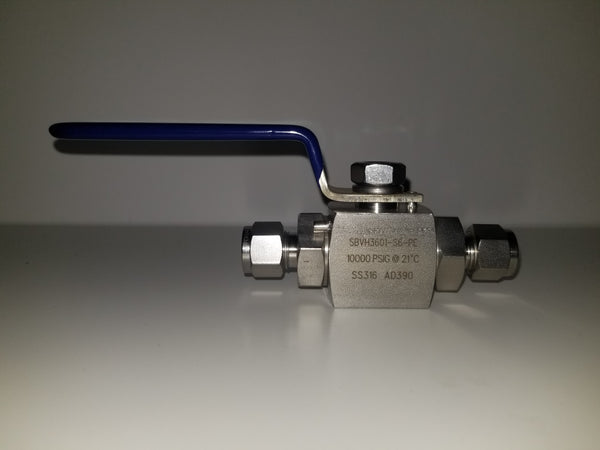 Ball Valve - Ultra Low Temp High Pressure - extraction equipment canada, extraction equipment - Evolved Extraction Solutions