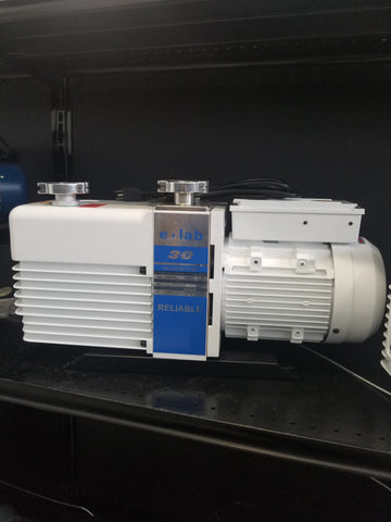 e-lab UltraVac 21 CFM Rotary Vane Vacuum Pump - extraction equipment canada, extraction equipment - Evolved Extraction Solutions