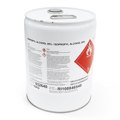 Isopropyl Alchol - 20 L - A.C.S. Grade - extraction equipment canada, extraction equipment - Evolved Extraction Solutions